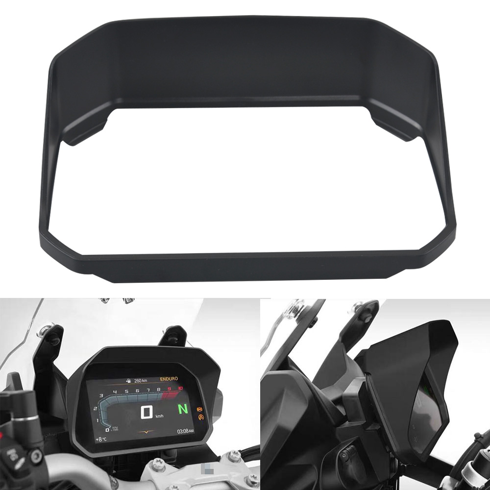 <font><b>Motorcycle</b></font> Instrument Sun Visor Meter Cover Guard For BMW <font><b>R1200GS</b></font> LC Adventure 18 19 R1250GS R1200 <font><b>GS</b></font> F850GS F750GS image