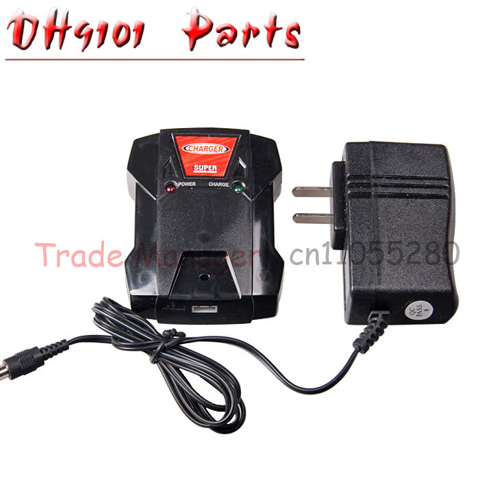Free shipping DH 9101 dh9010 rc Helicopters parts accessories DH9101-25 Charger Box and charger from origin factory