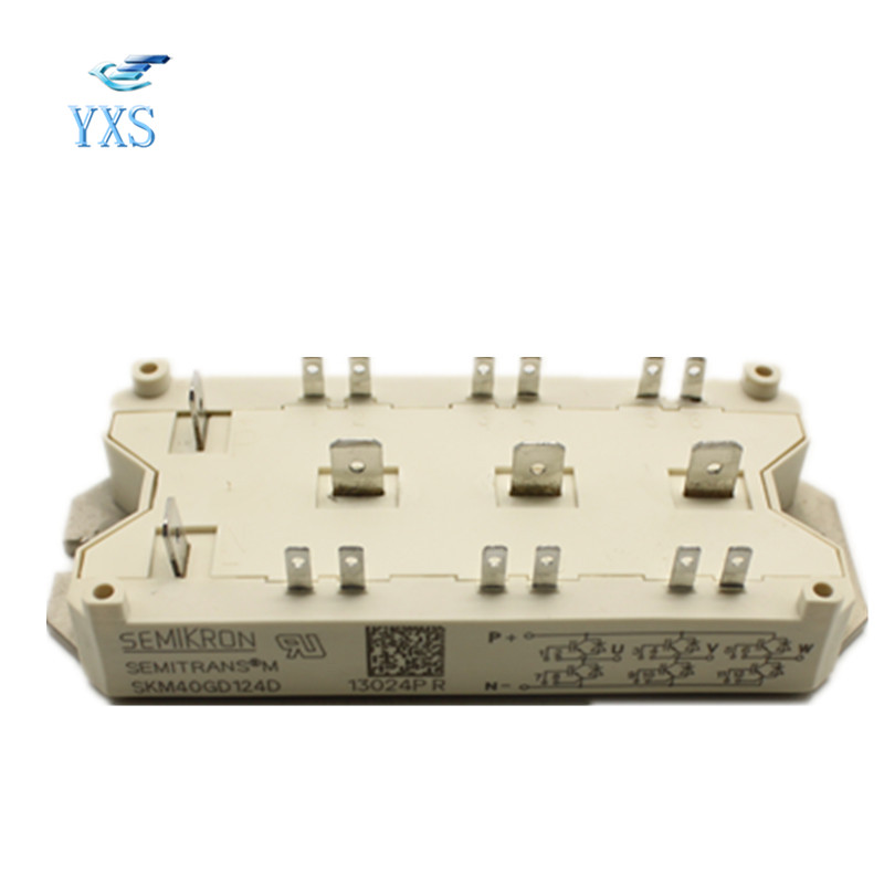 IGBT SKM40GD124D Power Module 7mbr75ub120 genuine power igbt module spot xzqjd