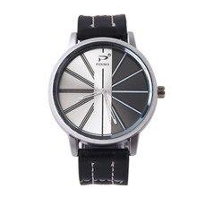 Relogio masculino Watches Men Luxury Brand Sports Men's Watch Fashion Dress Watch man Leather Band Quartz Wristwatches Clock цены онлайн