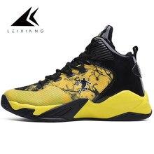 2558e918f2cfc Taille 47 Air Basket chaussures hommes Jordans baskets haut extérieur Basket  respirant maille Sport chaussures Basket