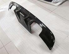 For Jaguar XF 2016 Carbon Fiber Rear Lip Spoiler Bumper Diffuser High Quality Car Accessories