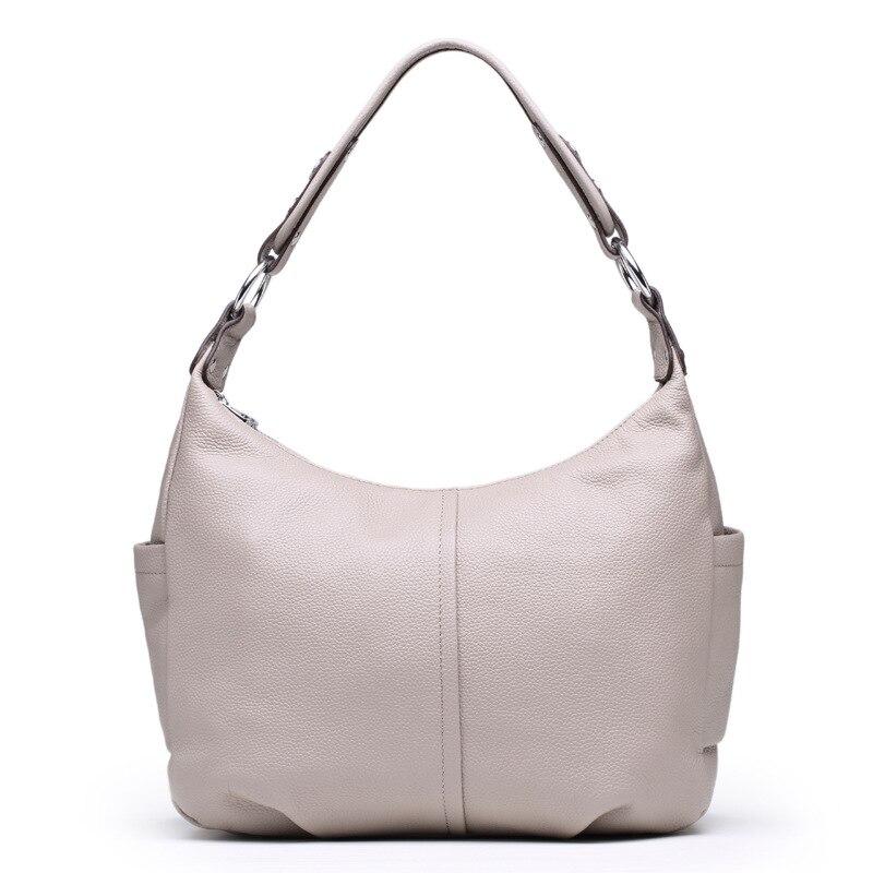 da4a9a5c871a 2016 известный бренд 100% Сумки из кожи Для женщин сумки натуральная кожа  сумка первый Слои коровьей плеча Курьерские сумки