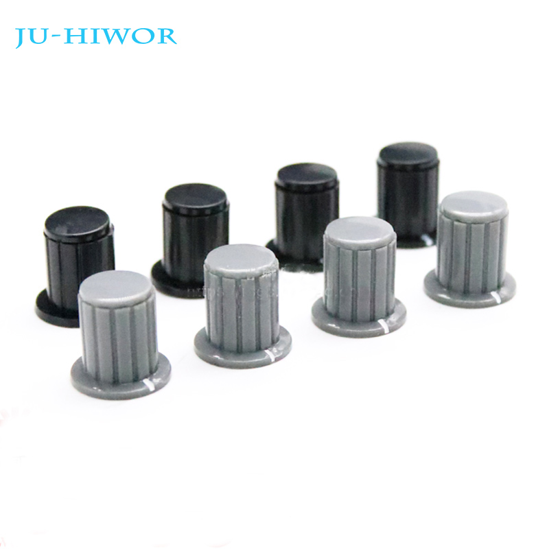 5pcs Wxd3-13-2w Wxd3-12 Wxd3-13 Gray Knob Button Cap Potentiometer Knob Inner Hole Diameter 4mm Potentiometers