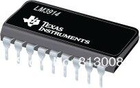LM3914 Дисплей LED Driver PDIP18 100% Новый хорошо Quatliy Гарантия Дистрибьютор Комплект НА Продажу 5% Off Emax Свободный Корабль 50 ШТ./ЛОТ
