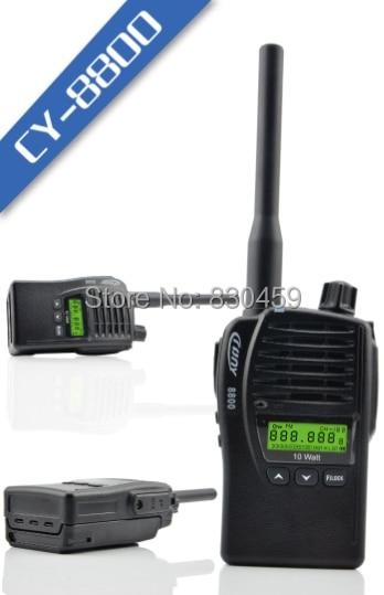 Crony CY-8800 Walkie Talkie 10W 128CH super high power Dual Band UHF/ VHF 400-470MHz&136-174MHz FM Two Way Radio serok ikan