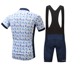 SUREA Summer Cycling Jersey Set 100% Polyester Bike Sportswear Men's Clothing Cycle Clothes Mountain Bike Jersey 2017