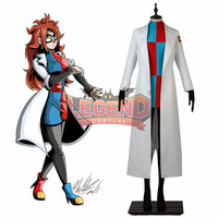Dragon Ball Fighter Z No. 21 #21 Android 21 ZJinzoningen Nijuichi G cosplay costume full set adult costume all size