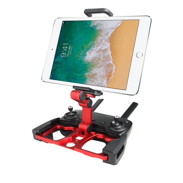 DJI Mavic 2 Pro Air Spark remote control Aluminium Holder with Strap Stand Mounting for iphone