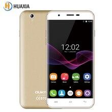 Oukitel u7 max 5.5 pulgadas 1 gb ram 8 gb rom 3g wcdma Quad Core 1280×720 SmartPhone 8MP Android 6.0 MT6580A 2500 mAh Móvil Celular teléfono