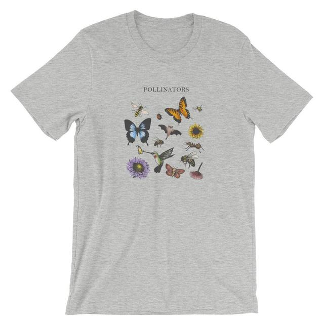 Owadów zapylających t koszula kobiety ochrony środowiska grunge tumblr moda koszulki estetyczne graficzne unisex bawełna koszulka casual top