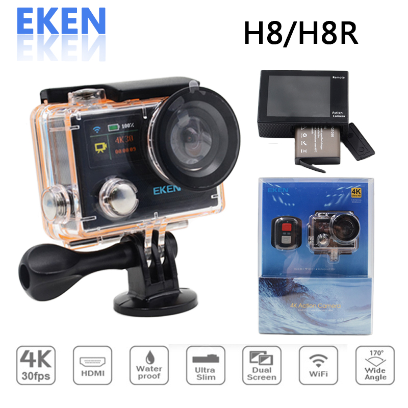 Original Eken h8 h8r 4K Action font b Camera b font WIFI underwater wifi sports font