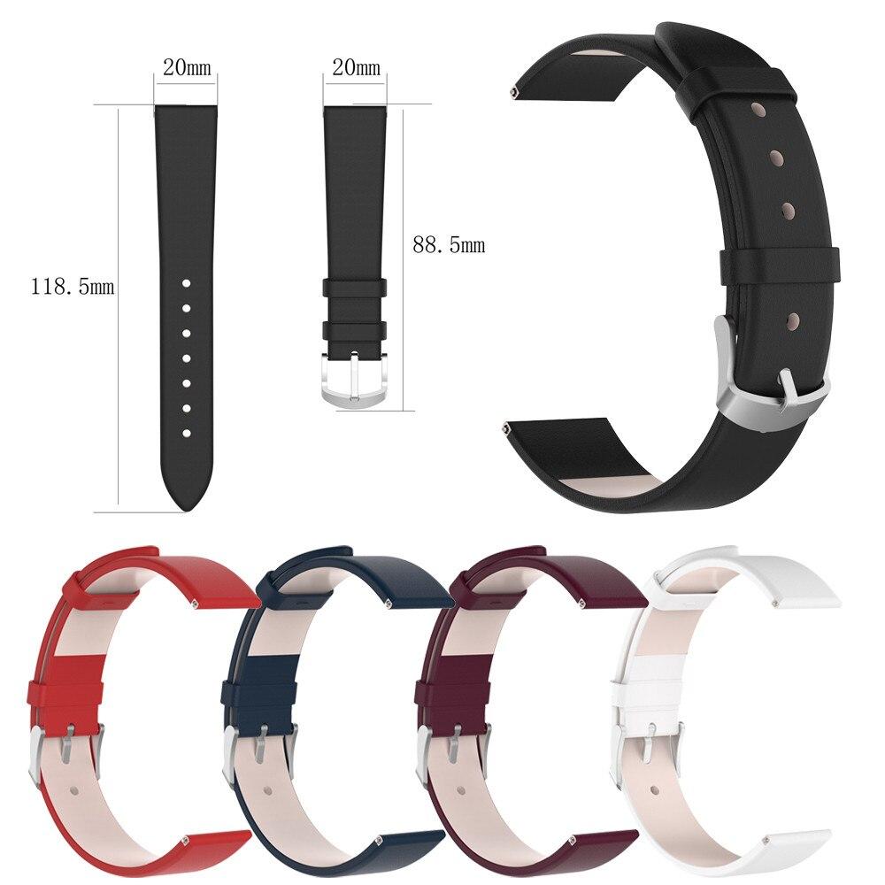 Leather Watch Band Wrist Straps Bracelet For Garmin
