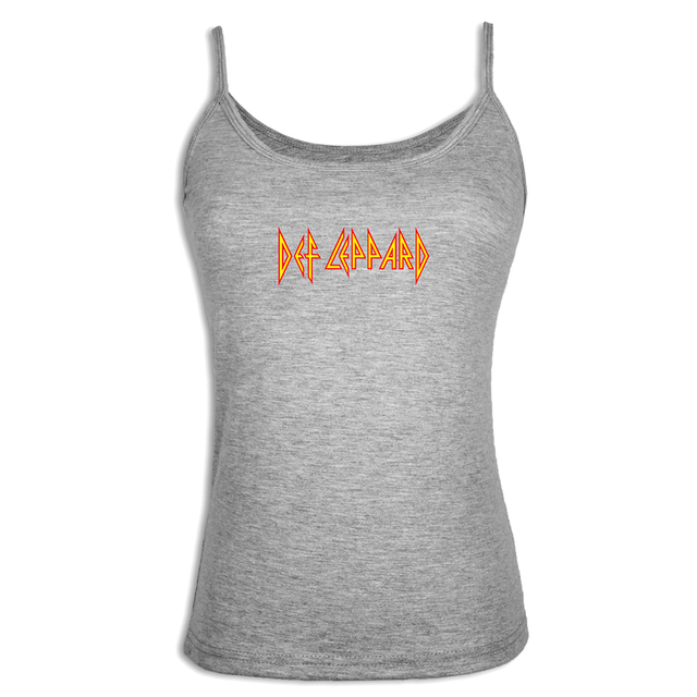 57f6de4e88c271 Def Leppard Hard Rock Band Camisole Fashion Gray White Tank Tops Women Girl  Cotton Fitness Sleeveless T Shirt For Lady Femme