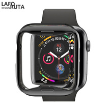 Laforuta TPU Case for Apple Watch Series 4 44mm 40mm Soft Silicone Cover Caese iWatch Bumper Protective Shell