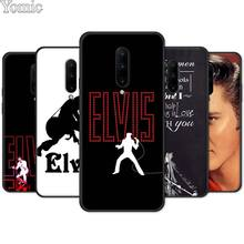Elvis Presley Black Case for Oneplus 7 7 Pro 6 6T 5T Silicone Phone Case for Oneplus 7 7Pro Soft TPU Cover Shell