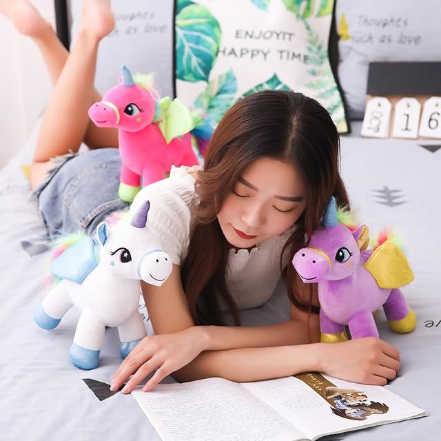 30cm Cute Rainbow Unicorn Plush Toys