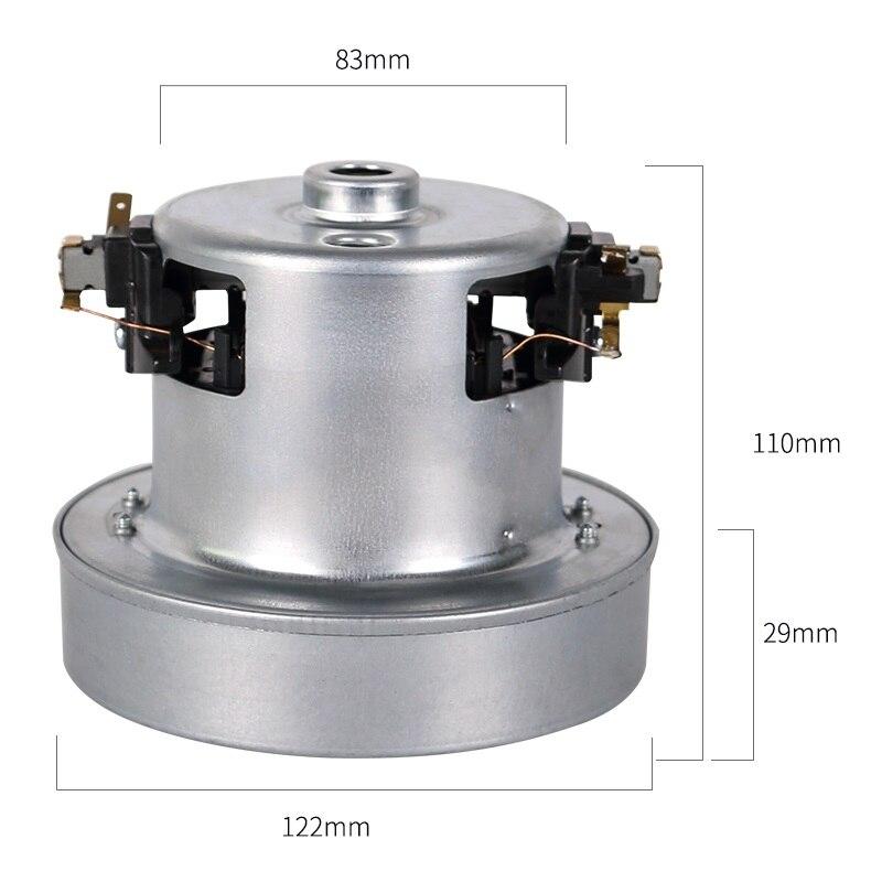 220 V 1500 W moteur aspirateur universel pour Philips FC8204 FC8206 FC8207 FC8254 FC8256 FC8258 accessoires aspirateur