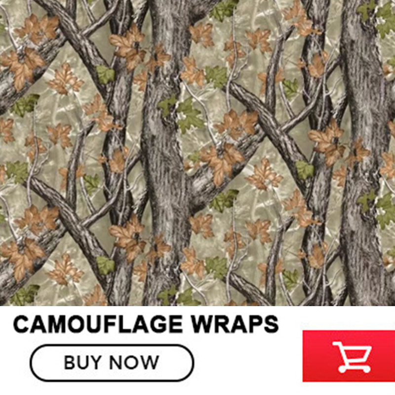 FS005 Car Styling Camouflage Car Wrap Jumbo Leaf Realtree Camouflage Vinyl Sticker Film  Size:1.52*5/10/15/20/25/30m/Roll hot sale 1pc longhorn hilux 900mm graphic vinyl sticker for toyota hilux decals badges detailing sticker car styling accessories