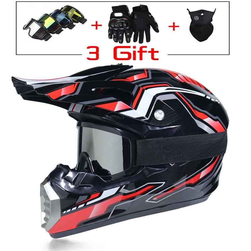 DOT Approved Lightweight Helmet Motorcycle Racing Bike Helmet Child ATV Bike Downhill MTB DH Cross Helmet