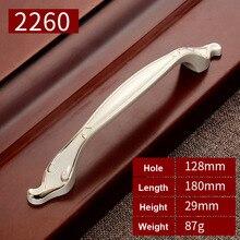 Handles for furniture deurknoppen White Kitchen Cupboard Wardrobe Kitchen Cabinets Furniture Door Handles and Knobs YJ2260