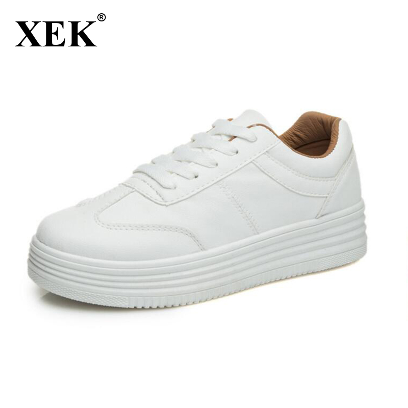 2018 Women Casual Shoes Platform Shoes Fashion Spring Autumn Women Shoes flats Breathable sneakers ST58 smile circle spring autumn women shoes casual sneakers for women fashion lace up flat platform shoes thick bottom sneakers