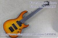 Hohe qualität china sunburst finish 5 string modul quantum e-bass guitars lefty benutzerdefinierte erhältlich
