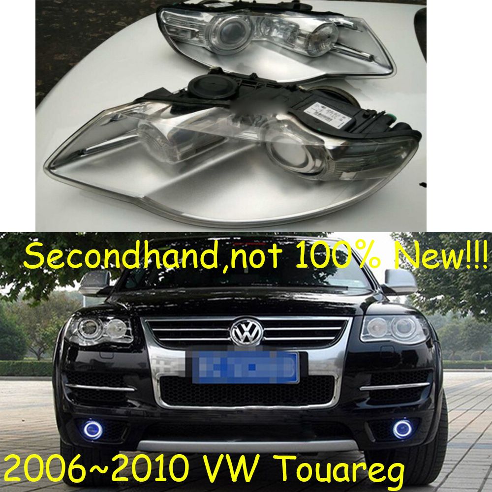 Secondhand,not 100%New!!! 2006~2010,Car Styling for Touareg Headlight,sharan,Golf7,routan,polo,passat,magotan,Touareg head lamp tiguan taillight 2017 2018year led free ship ouareg sharan golf7 routan saveiro polo passat magotan jetta vento tiguan rear lamp