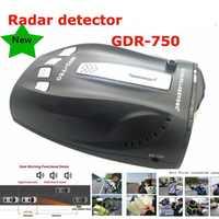 Best Rivelatore Del Radar Dell'automobile GDR-750 Voice Alert Auto Sistema di Allarme di Velocità di Rilevazione di 360 Gradi VG-2 L'immunità Città e Autostrada Modalità