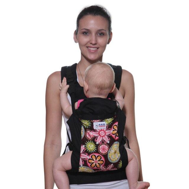 f2cecdcffc30 Bebear Mochilas Portabebes Baby Carrier ergonómico 360 bandolera de anillas  bebé algodón Canguru bebé del portador