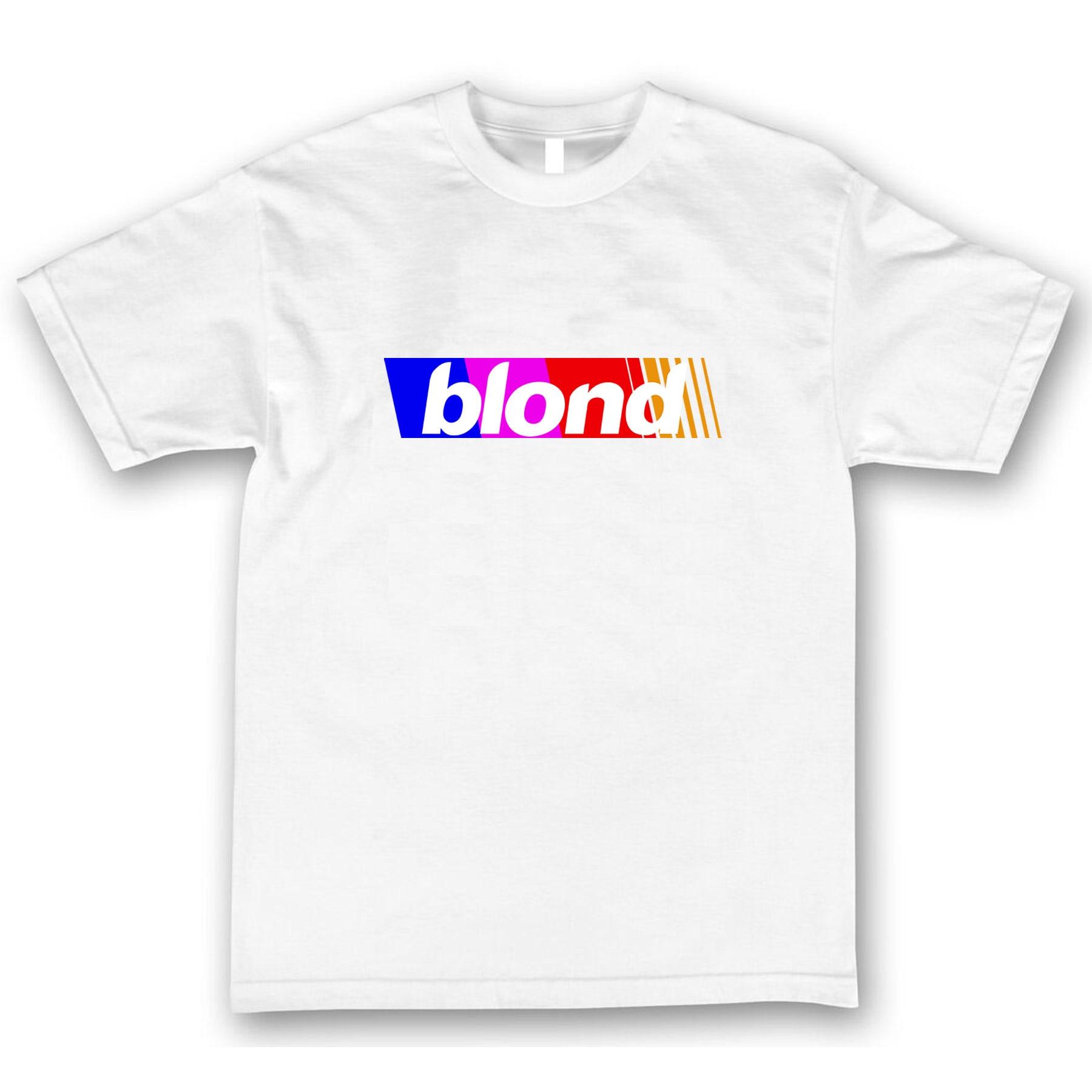 Frank Ocean Blond Blonde T Shirt Rainbow Channel Orange