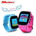 Modoex posicionamento crianças relógios crianças bebê gps smart watch cartão sim ios/android aptidão rastreador sos smart watch