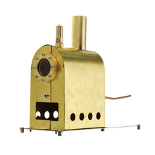 цены Microcosm Micro Scale Steam Boiler Model G-1B Steam Boiler Model Stirling Engine Stainless Steel Retro Design Technology Skills