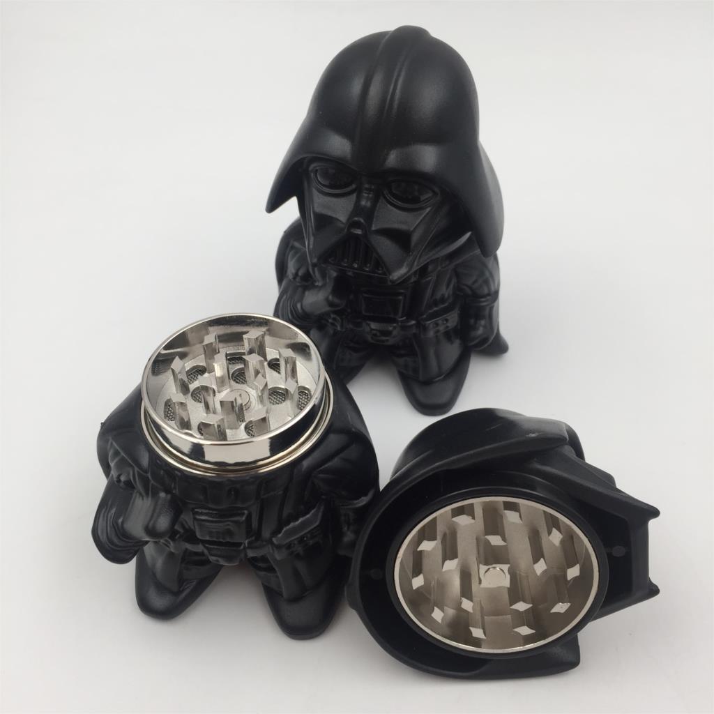 6pcs lot Newest Star Wars Black Warrior Darth Vader Stormtrooper toy Metal Zinc Alloy Herb Weed