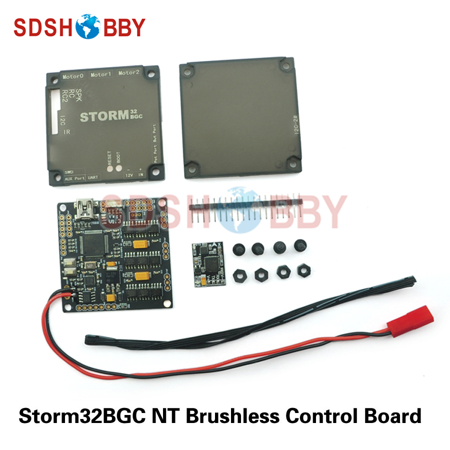 Storm32bgcNT / Storm32-BGC NT Brushless Controller with Serial Port IMU Avoid I2C Problem Compatible with V1.3 for FPV Gimbal fast free ship for gameduino for arduino game vga game development board fpga with serial port verilog code
