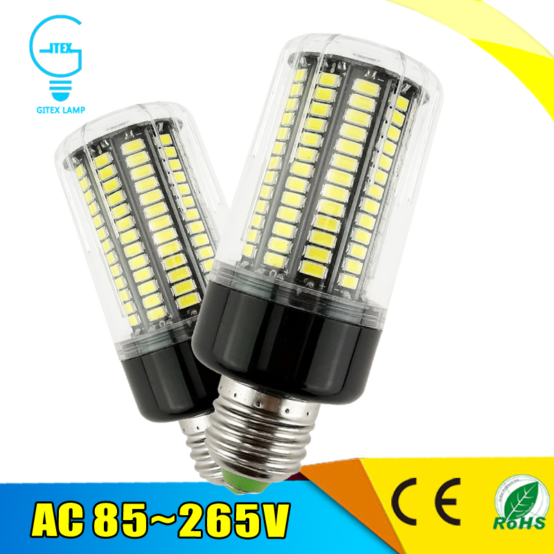 LED Corn lamp E27 220V 3W 4W 5W 7W 8W 12W 15W LED Bulb E14 110V B22 5736 SMD Lampada Led Spotlight Bulb Light AC 85-265V beilai 5736 smd lampada led lamp e27 220v corn light e14 led bulbs 3w 5w 7w 9w 12w 15w candle spotlight luz chandelier