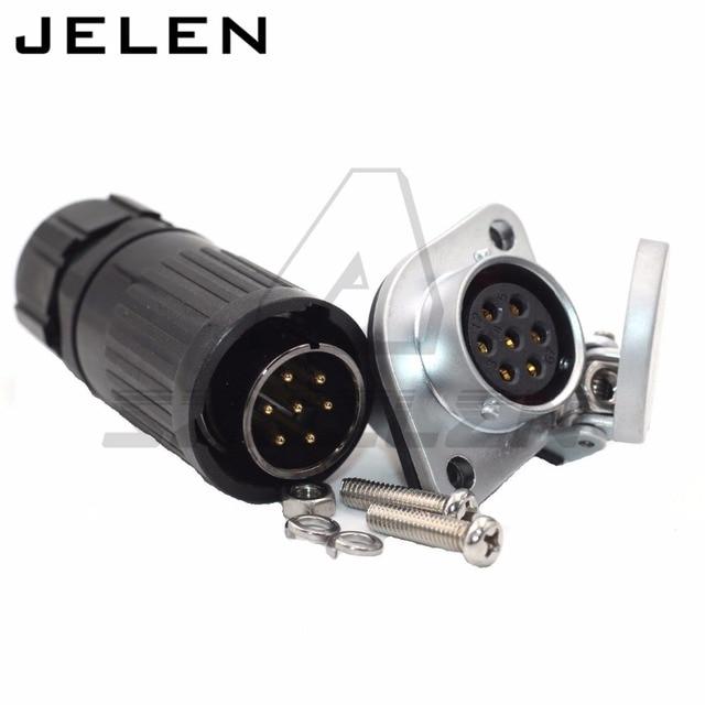 HE20, 7pin Wasserdichte Stecker, industrielle stecker, automotive ...