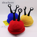 CN-RUBR New Arrival Fashion Children Hats Winter Children Personalized Insects Knitting Beanies Cap Kid with Velvet Ball Hats