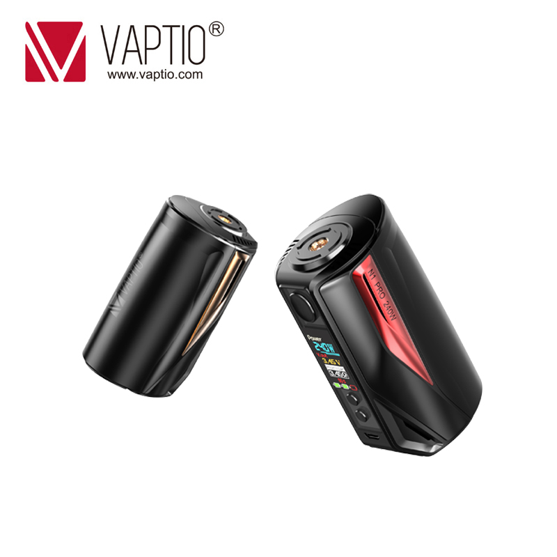 240 W Vape mod Vaptio N1 Pro Box MOD Elektronische Zigarette Vaping passt dual 18650 Batterie für 510 gewinde zerstäuber vape kit