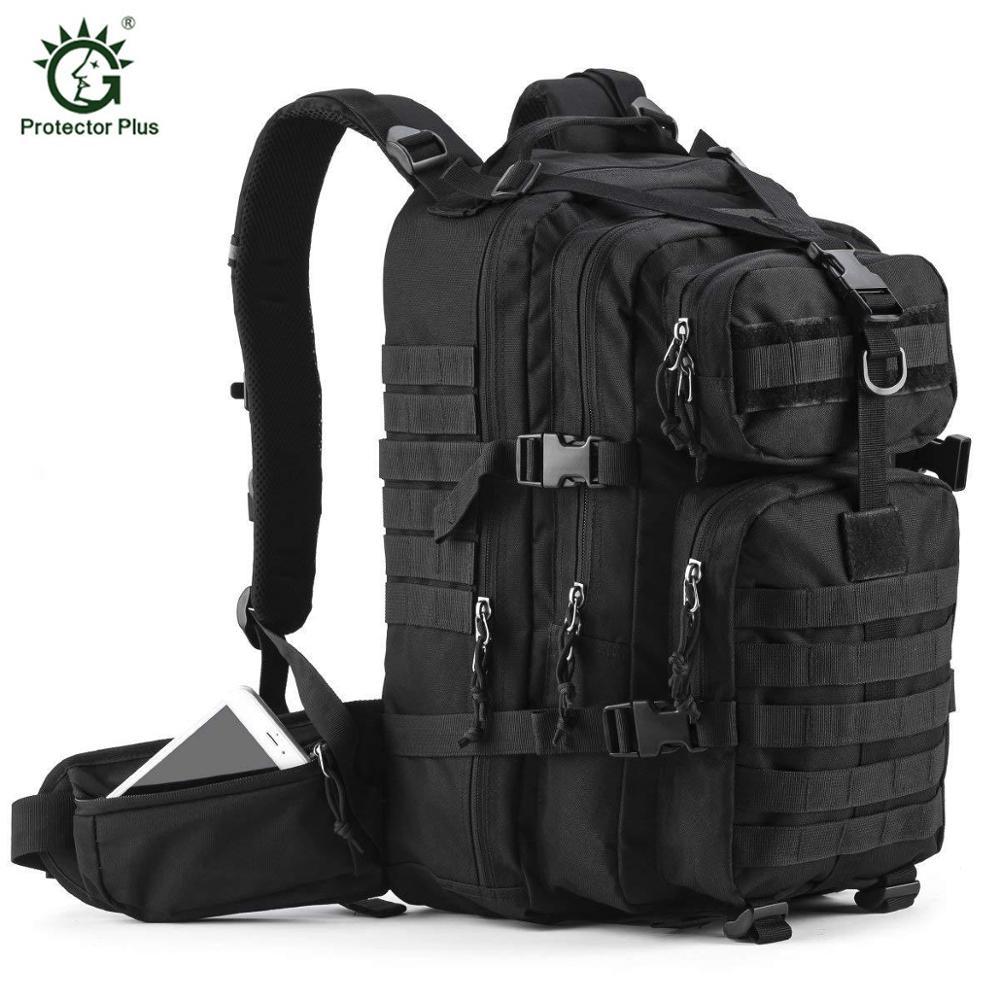 Sac à dos tactique militaire 35L sac d'assaut 3 jours sac d'assaut armée Molle sac pour chasse en plein air voyage randonnée Camping