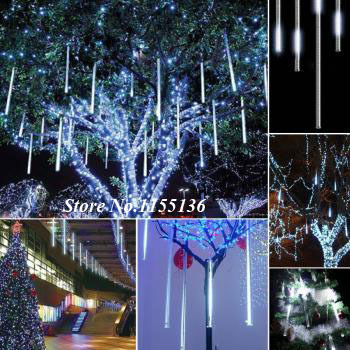 Great 30/50CM LED Meteor Light Led Lamp Lights Flashing Christmas Tree Lights  Outdoor Hanging Tree Lights Meteor Sided Water Pipe In LED Bar Lights From  Lights ...