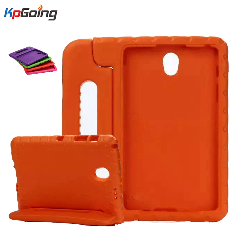 Top Non-toxic Kids ShockProof Thick Foam EVA Handle Stand Case Cover for Samsung Galaxy Tab S 8.4 T700 T705C metal ring holder combo phone bag luxury shockproof case for samsung galaxy note 8