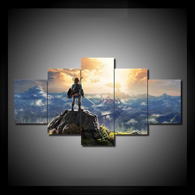 Home DecorModern On The Wall Art Modular Pictures e For Living Room 5 Panel Sport Typ Abstract Painting On Canvas Drop Shipping