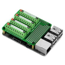 CZH-LABS Pi Screw Terminal Block Breakout Module, for Raspberry Pi.
