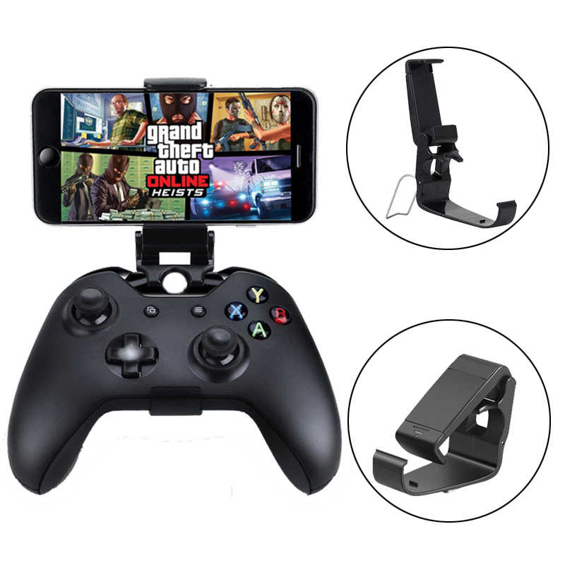 Mobile Cell Phone Clip Holder For Xbox One S/Slim Controller joystick Mount HandGrip Stand For Xbox One Gamepad For Samsung/Sony