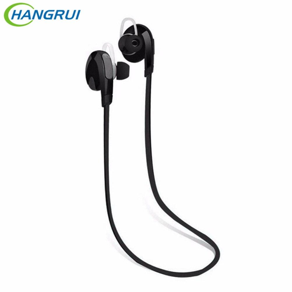 HANGRUI Waterproof Wireless Headphone Sports Bluetooth Earphone with mic Handsfree Stereo Headset for phone iphone xiaomi earbud