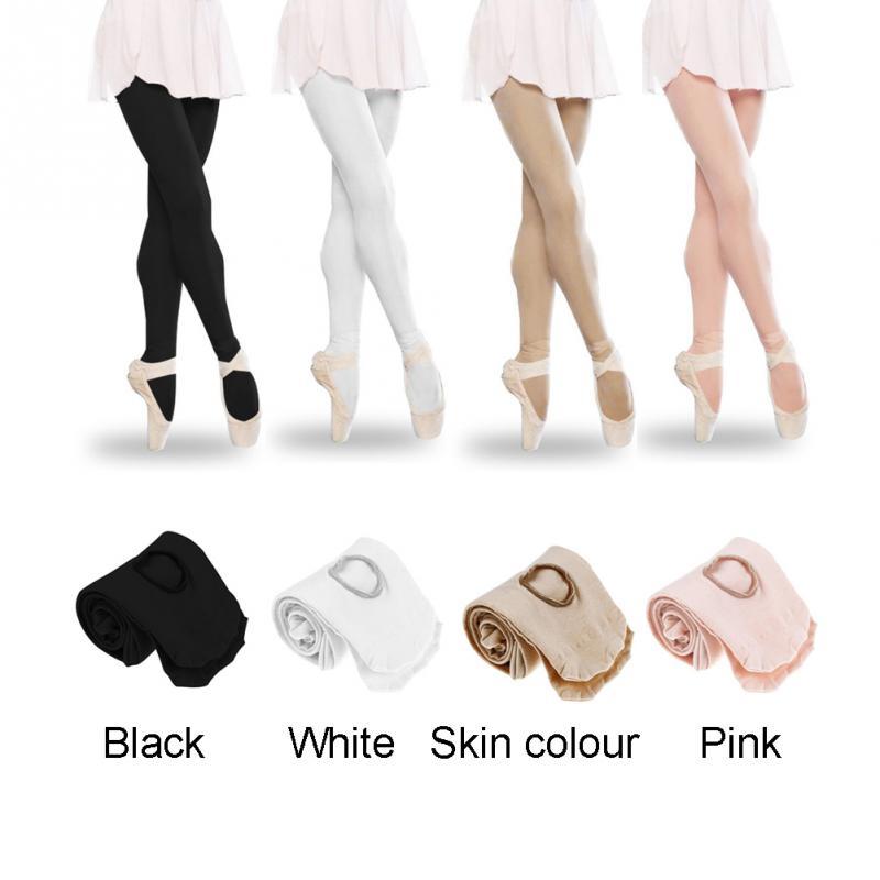 Adult Women Kids Girls Convertible Foot Ballet Dance Sock Panty Soft Microfiber Seamless Ballet  Socks