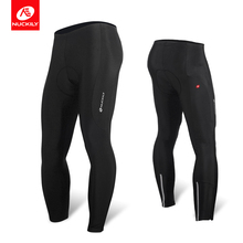 цены на NUCKILY Bicycle Tights Gel Pad Men Cycling Pants Long Autumn Reflective Sport Wear Bike Clothing                           MM007  в интернет-магазинах