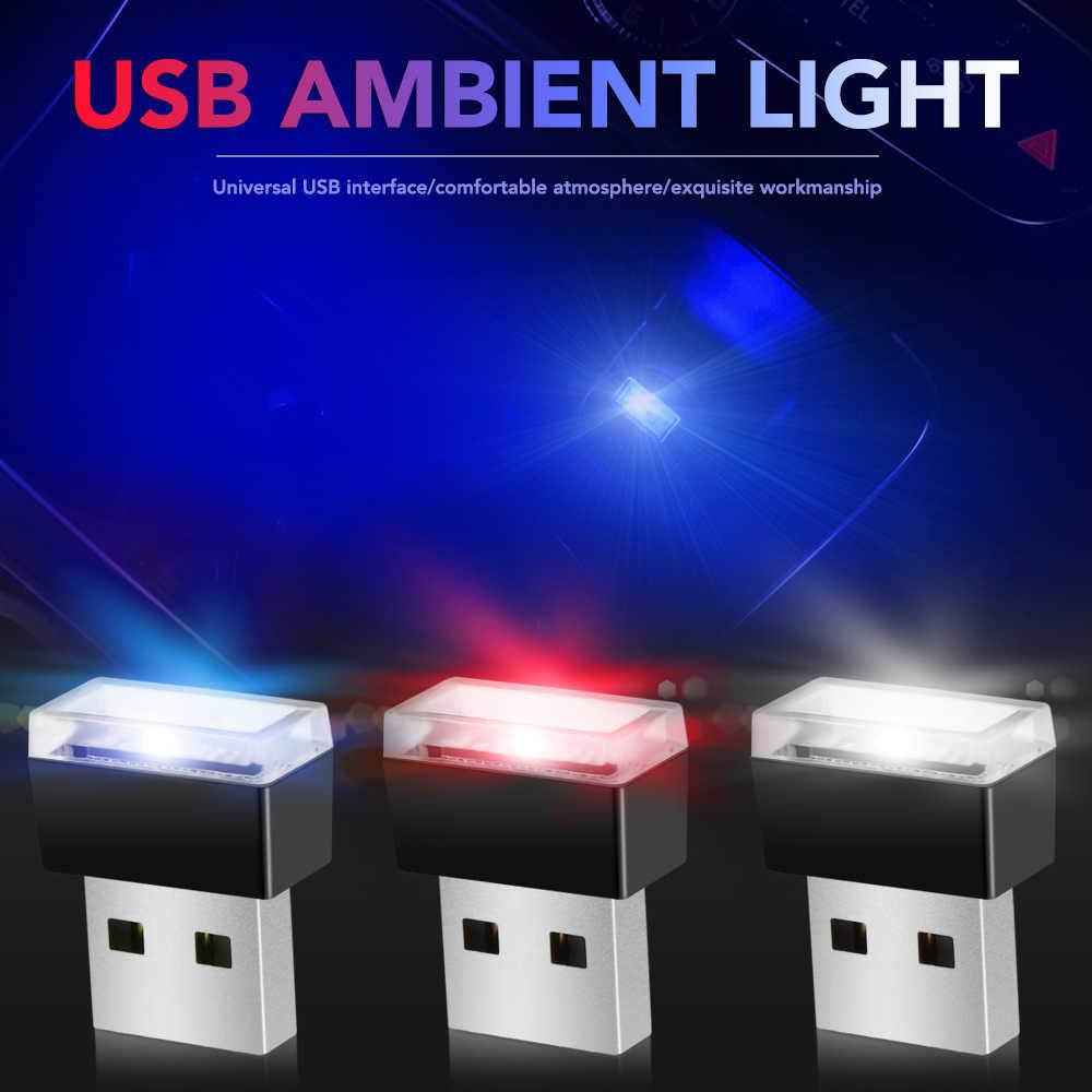 Auto-Styling USB Atmosfera HA CONDOTTO LA Luce Accessori Auto Per BMW E46 E90 E60 E5 X5 X3 X1 E36 E53 e39 F30 F10 F20 E87 E34 M3 M4 M5 GT