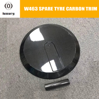 W463 Carbon Fiber Rear Spare Tire Cover for Benz W463 G class G350 G400 G550 G63 G65 Auto Racing Car Tyre Cover Trim
